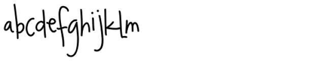CookieNookie Font LOWERCASE