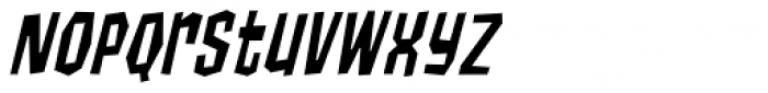 Cool Beans Italic Font LOWERCASE