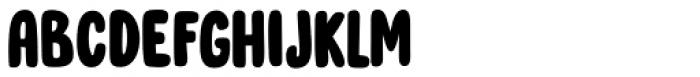 Cool Daddy Regular Font UPPERCASE