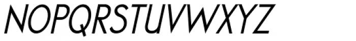 Cool Weekdays Italic Font UPPERCASE