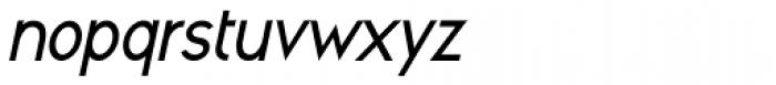Cool Weekdays Italic Font LOWERCASE