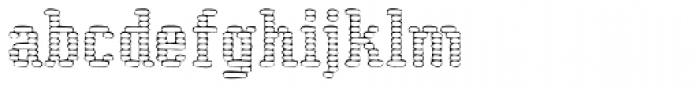 CoolWool Cotton Club Font LOWERCASE
