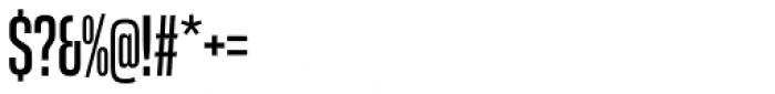 Coolvetica Compressed Regular Font OTHER CHARS
