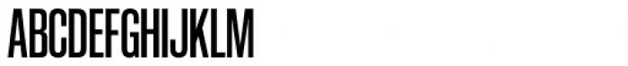 Coolvetica Compressed Regular Font UPPERCASE