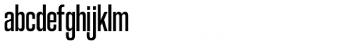 Coolvetica Compressed Regular Font LOWERCASE