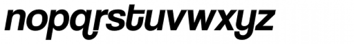 Coolvetica Italic Font LOWERCASE