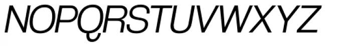 Coolvetica Light Italic Font UPPERCASE