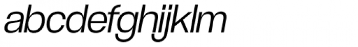 Coolvetica Light Italic Font LOWERCASE