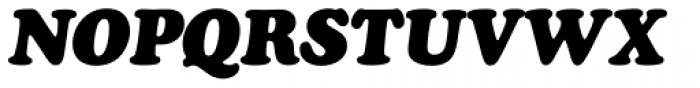 Cooper Black D Italic Font UPPERCASE
