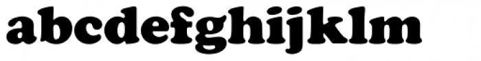 Cooper Black EF Bold Font LOWERCASE