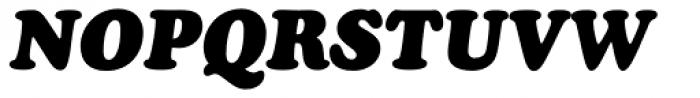 Cooper Black Italic Font UPPERCASE