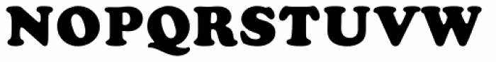 Cooper Black MN Font UPPERCASE