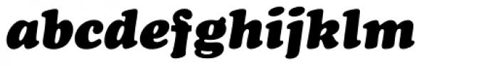 Cooper Black Pro Italic Font LOWERCASE