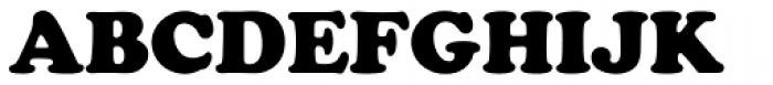 Cooper Black Pro Font UPPERCASE