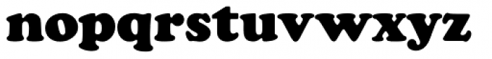 Cooper Black Pro Font LOWERCASE