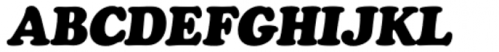Cooper Black SB Italic Font UPPERCASE
