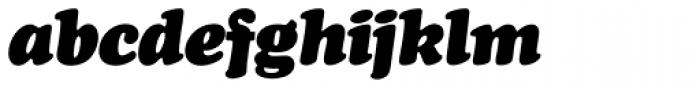 Cooper Black SB Italic Font LOWERCASE