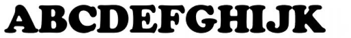 Cooper Black SH Regular Font UPPERCASE