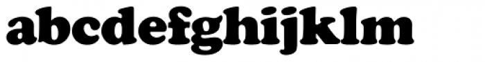 Cooper Black SH Regular Font LOWERCASE