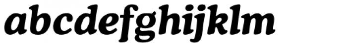 Cooper Bold Italic Font LOWERCASE