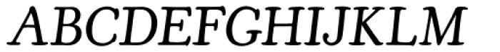 Cooper Old Style URW Light Italic Font UPPERCASE