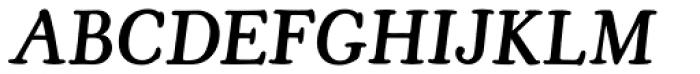 Cooper Old Style URW Medium Italic Font UPPERCASE