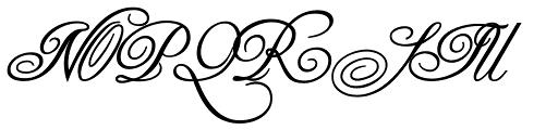 Copper Alt Caps Bold Font UPPERCASE