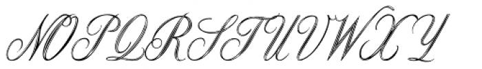 Copper Inline Font UPPERCASE