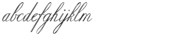 Copper Inline Font LOWERCASE