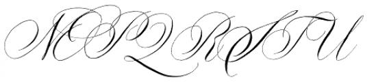 Copperlove Font UPPERCASE