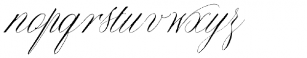 Copperlove Font LOWERCASE