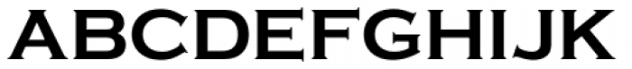 Copperplate Bold Font UPPERCASE