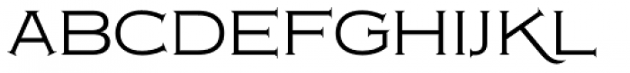 Copperplate Classic Light Font LOWERCASE