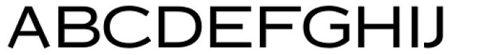 Copperplate Classic Medium Sans Font UPPERCASE