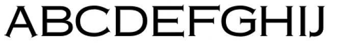 Copperplate Classic Medium Font UPPERCASE