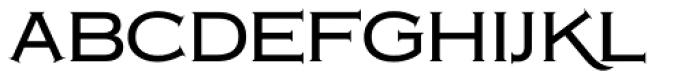 Copperplate Classic Medium Font LOWERCASE