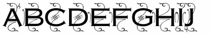 Copperplate Deco Medium Font UPPERCASE