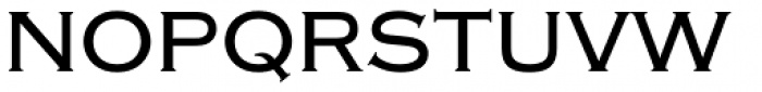 Copperplate Medium Font UPPERCASE