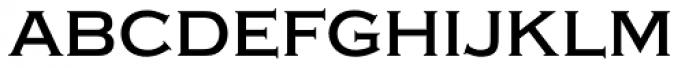 Copperplate Medium Font LOWERCASE