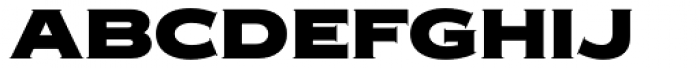 Copperplate New Black Extended Font LOWERCASE