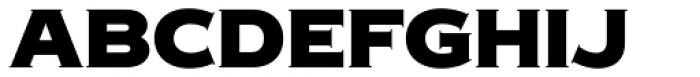 Copperplate New Black Medium Font UPPERCASE