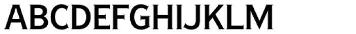 Copperplate New Regular Condensed Font LOWERCASE