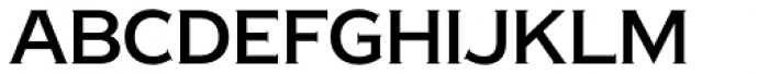 Copperplate New Regular Semi Condensed Font LOWERCASE