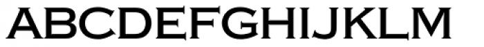 Copperplate SB Regular Font LOWERCASE