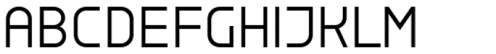 Copperplate Wide Light Font LOWERCASE