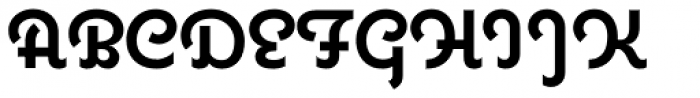 Coquette Bold Font UPPERCASE