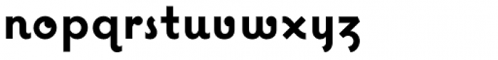 Coquette Bold Font LOWERCASE