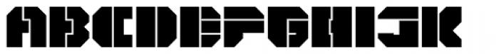 CorTen Open Fat Font UPPERCASE