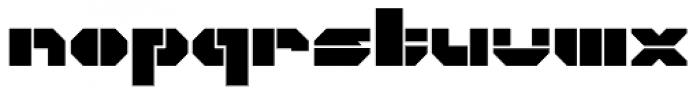CorTen Open Fat Font LOWERCASE