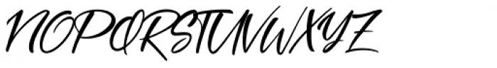 Coral Pen Regular Font UPPERCASE